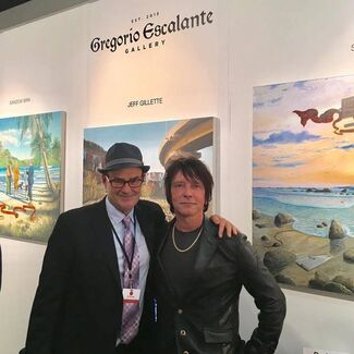 Gregorio Escalante Gallery at LA Art Show 2017, installation view