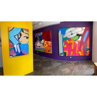 "JOHN ""CRASH"" MATOS: CELEBRATING 45 YEARS   An Online Exclusive, installation view"