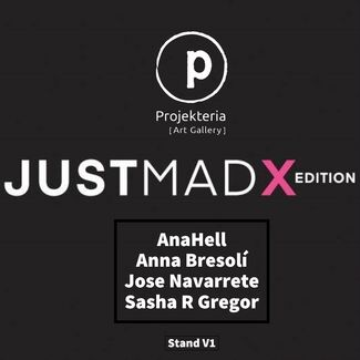 Projekteria [Art Gallery] at JUSTMAD X, installation view