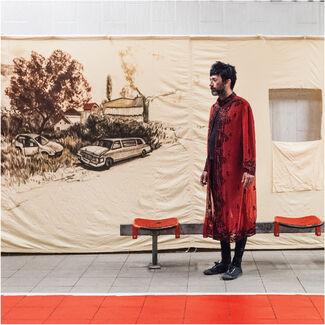 Nikhil Chopra:Drawing a Line through Landscape, installation view