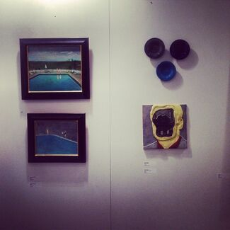 The Blue Show, installation view