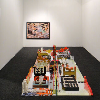 Upfor at Art Los Angeles Contemporary 2014, installation view