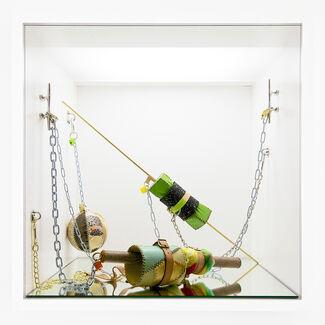 Maiken Bent – Rattle Clank Jingle Keys Locked @ Der Würfel, installation view