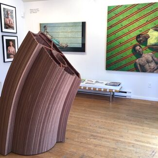 Larry Collins, Frank Mullaney, Forrest Williams, and Rick Wrigley, installation view