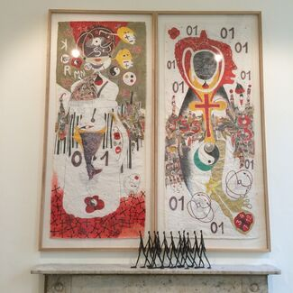 (S)ITOR/Sitor Senghor at 1:54 Contemporary African Art Fair London 2015, installation view