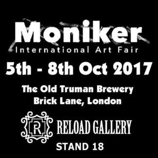 Reload Gallery at Moniker Art Fair 2017, installation view