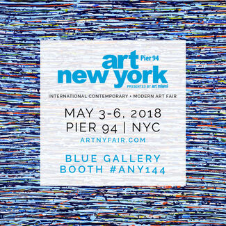 Blue Gallery at Art New York 2018, installation view