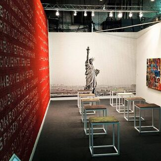 Athr Gallery at The Armory Show 2015, installation view