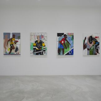 Hard In The Paint, installation view