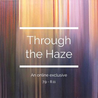 Through the Haze, installation view