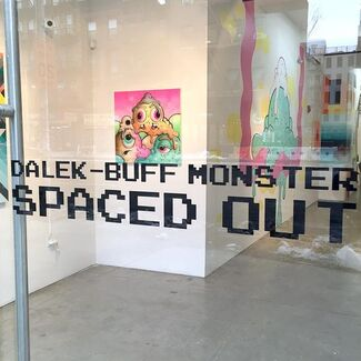 Dalek - Buff Monster: spaced out, installation view