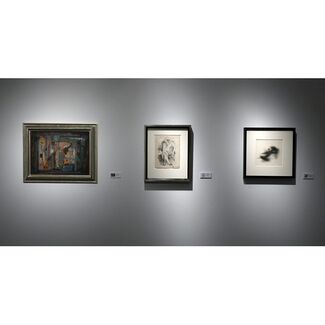 Norman Lewis: Small Paintings & Drawings, installation view
