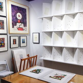 Wingate Studio at The Editions/Artists' Books (E/AB) Fair, installation view