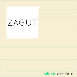 Zagut at Latitude Art Fair, installation view