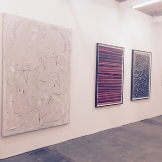 Anita Beckers at Art Brussels 2015, installation view