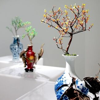 Emeric CHANTIER - Organicum - Cultura - Imbibere, installation view