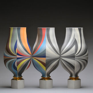 Precision in Porcelain: The Work of Peter Pincus, installation view