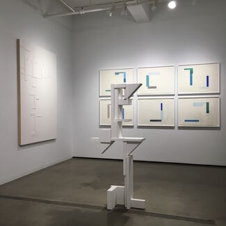 Agnes Barley, Shadow Structures, installation view