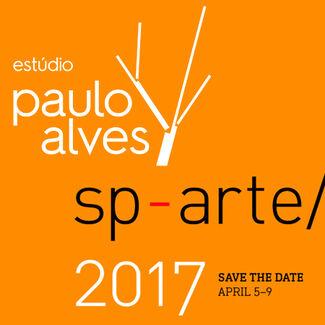 Paulo Alves at SP-Arte 2017, installation view