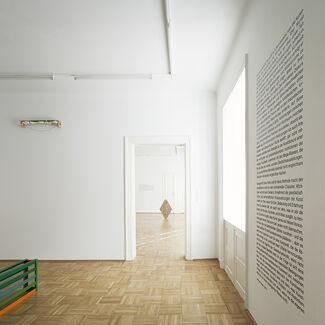 WORD + WORK, installation view