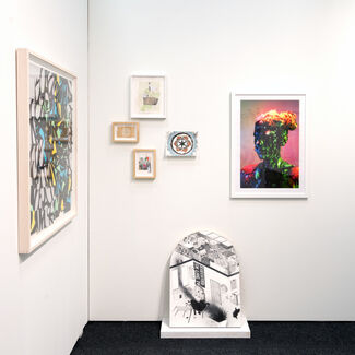 Proto Gallery at Art on Paper New York 2016, installation view