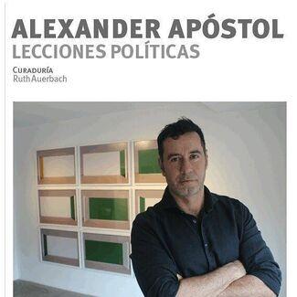 Lecciones políticas de Alexander Apóstol, installation view