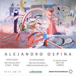 Alejandro Ospina: Algorithms, installation view