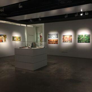 Taha Sabban & Abdullah Hammas, installation view