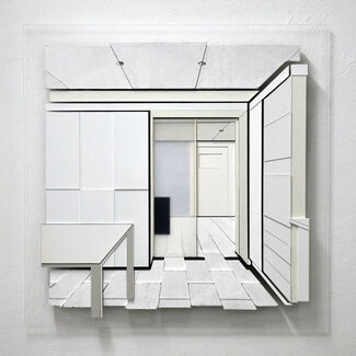 Paolo Cavinato - Behind the Curtains, installation view