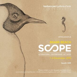 Barbara Paci Art Gallery at SCOPE Miami Beach 2015, installation view