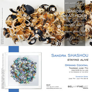 'Staying Alive' - Sandra Shashou, installation view