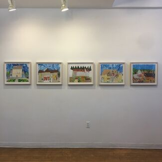 Different Things Around the World, installation view