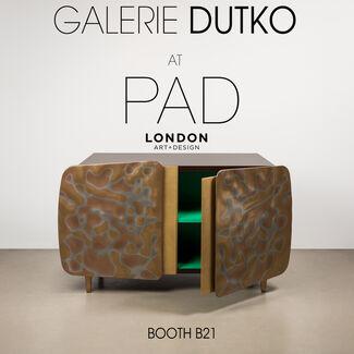 Galerie Dutko at PAD London 2017, installation view