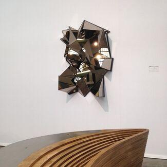 Armel Soyer at Art Paris 2015, installation view