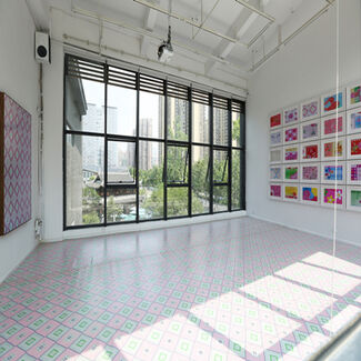 So Many Things Are Going On, installation view