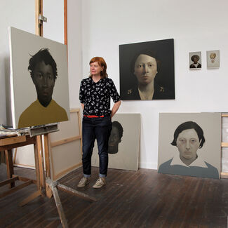 Sarah Ball 'Bertillon', installation view