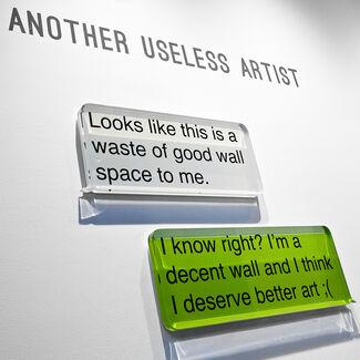 UNIX Gallery at Art Toronto 2014, installation view