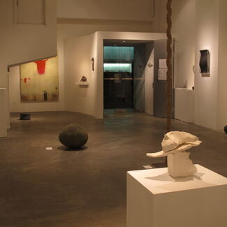 """vol.78 """"Shapes or pre-birth collections  2"""", installation view"""