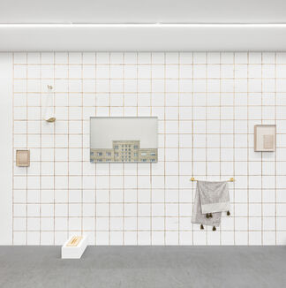 Within these lines I operate, installation view