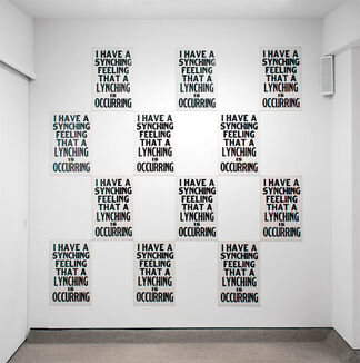 Kay Rosen: The Complete Letterpress Works, 1984-2017, installation view