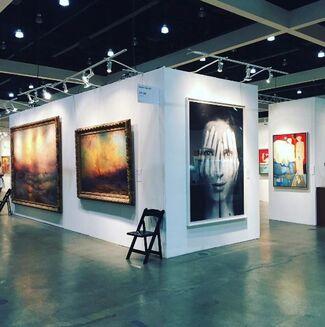 Ararat Gallery at LA Art Show 2017, installation view