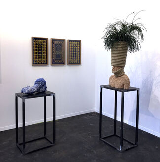 Transit at Art Brussels 2017, installation view