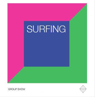 Surfing, installation view