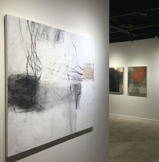 INTERPLAY: Paintings by Jerry Ledbetter and Rebecca Crowell, installation view