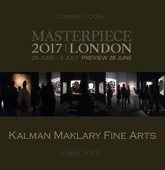 Kalman Maklary Fine Arts at Masterpiece London 2017, installation view