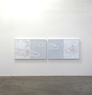 "Udo Noger, ""Water Has No Figuration"", installation view"
