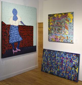 Elizabeth Clement Fine Art at Aqua Art Miami 2019, installation view