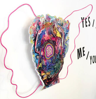 Never Yes/No Me/You, installation view