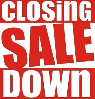 Closing Down Sale by Pelican Haus, installation view