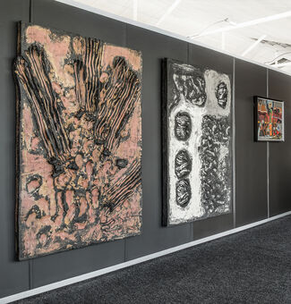 EBONY/CURATED at SAADA Art Fair 2016, installation view